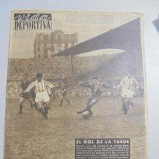 Coleccionismo deportivo - PERIÓDICO VIDA DEPORTIVA. AÑO XI. NÚMERO 463. LUNES 25 ENERO 1954. 16 PAGINAS. 38,5X28,5 CM - 90710380