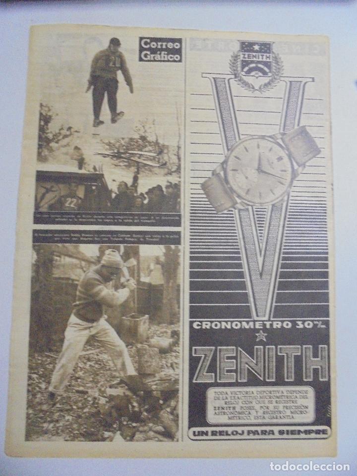 Coleccionismo deportivo: PERIÓDICO VIDA DEPORTIVA. AÑO XI. NÚMERO 463. LUNES 25 ENERO 1954. 16 PAGINAS. 38,5X28,5 CM - Foto 2 - 90710380