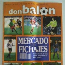 Coleccionismo deportivo: REVISTA DON BALON N. 769 JULIO 1990. MERCADO DE FICHAJES. Lote 90756943