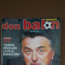 Coleccionismo deportivo: REVISTA DON BALON - ANTIC - FEBRERO 2003 - INCLUYE POSTER MILAN - TDKR36. Lote 90907720