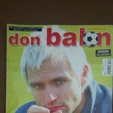 Coleccionismo deportivo: REVISTA DON BALON - CAÑIZARES - FEBRERO 2003 - INCLUYE POSTER OSASUNA - TDKR36. Lote 90908325