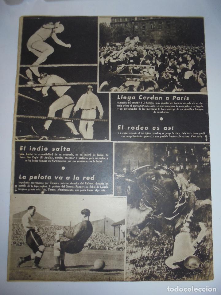 Coleccionismo deportivo: PERIÓDICO VIDA DEPORTIVA. AÑO V. NÚMERO 162. MARTES 12 OCTUBRE 1948. 16 PAGINAS. 38,5X28,5 CM - Foto 2 - 90930640