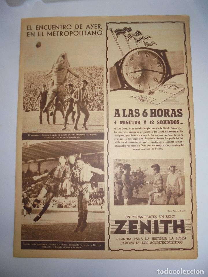 Coleccionismo deportivo: PERIÓDICO VIDA DEPORTIVA. AÑO X. NÚMERO 405. LUNES 15 JUNIO 1953. 38,5X28,5 CM - Foto 2 - 90930760