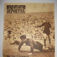 Coleccionismo deportivo - PERIÓDICO VIDA DEPORTIVA. AÑO VII. NÚMERO 274. MARTES 5 DICIEMBRE 1950. 16 PAGINAS. 38,5X28,5 CM - 90930995