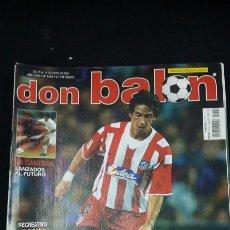 Coleccionismo deportivo: REVISTA DON BALON - ALBERTINI - ENERO 2003- INCLUYE POSTER RECREATIVO HUELVA - TDKR36. Lote 90931105