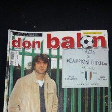 Coleccionismo deportivo: REVISTA DON BALON - CLAUDIO LOPEZ - ENERO 2003- INCLUYE POSTER CELTA DE VIGO - TDKR36. Lote 90931155