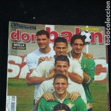 Coleccionismo deportivo: REVISTA DON BALON - LOS BERMEJALES - NOVIEMBRE 2002- INCLUYE POSTER SEVILLA - TDKR36. Lote 90931230