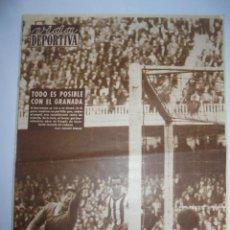 Coleccionismo deportivo: PERIÓDICO VIDA DEPORTIVA. AÑO XVII. NÚMERO 754. LUNES, 29 DE FEBRERO DE 1960. 24 PAGS. 38,5X28,5 CM. Lote 90933455