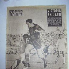 Coleccionismo deportivo: PERIÓDICO VIDA DEPORTIVA. AÑO XIII. NÚMERO 576. LUNES, 1º DE OCTUB DE 1956. 16 PAGS. 38,5X28,5 CM. Lote 90933500