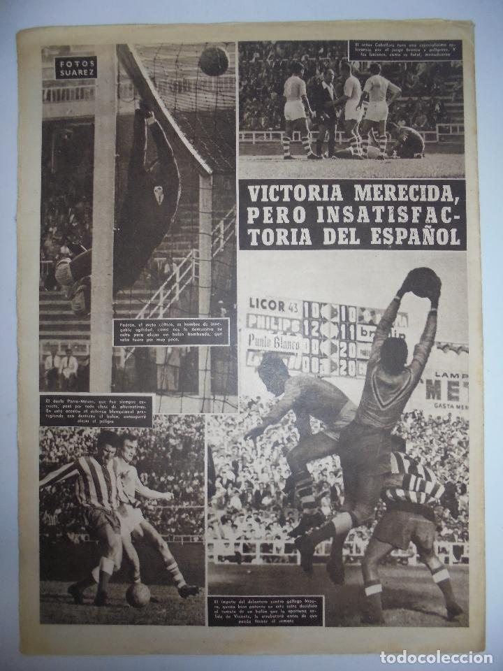 Coleccionismo deportivo: PERIÓDICO VIDA DEPORTIVA. AÑO XIII. NÚMERO 576. LUNES, 1º DE OCTUB DE 1956. 16 PAGS. 38,5X28,5 CM - Foto 2 - 90933500