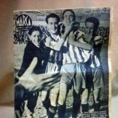 Coleccionismo deportivo: MARCA SUPLEMMENTO GRAFICO DE LOS MARTES, Nº 21, ABRIL 1943, ESPAÑOL VENCE AL GIJON, PROMOCIONA. Lote 91282080