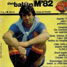 Coleccionismo deportivo: DON BALÓN, 1981 - 82, M 82, REVISTA DEL MUNDIAL. Lote 91394150