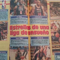 Coleccionismo deportivo: NBA PAGINAS EXTRA NBA DIARIOS SPORT PREVIO TEMPORADA 1992-93 MICHAEL JORDAN DREAM TEAM. Lote 91582705