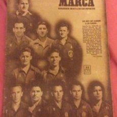 Coleccionismo deportivo: SEMANARIO MARCA . JUNIO 1950. ESPAÑA 3 -EEUU 1.. Lote 91761060
