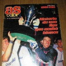 Coleccionismo deportivo: OCASION REVISTA AS COLOR 177 JULIO 1989 EXTRA 1988 89 CON POSTER DE TODAS LAS PLANTILLAS DE PRIMERA . Lote 91812245