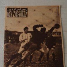 Colecionismo desportivo: VIDA DEPORTIVA Nº 267 - PEÑA RHIN - COPA DAVIS ESPAÑA-ALEMANIA. Lote 92040655