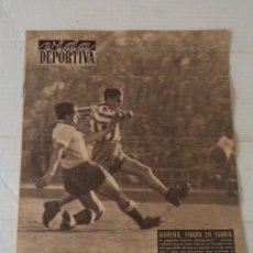 Colecionismo desportivo: VIDA DEPORTIVA Nº 533 - CLUB DE TENIS BARCINO - FRANCO FESTUCCI (BOXEO). Lote 92051460