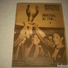 Coleccionismo deportivo: VIDA DEPORTIVA N° 399 MAYO 1953 . BARÇA CAMPEON DE LIGA . KUBALA. Lote 92940955