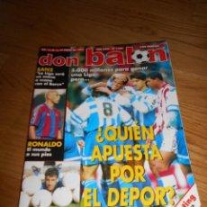 Colecionismo desportivo: REVISTA DEPORTIVA DON BALON AÑO XXIII Nº 1109 1997 POSTER DEL SPORTING. Lote 93082015