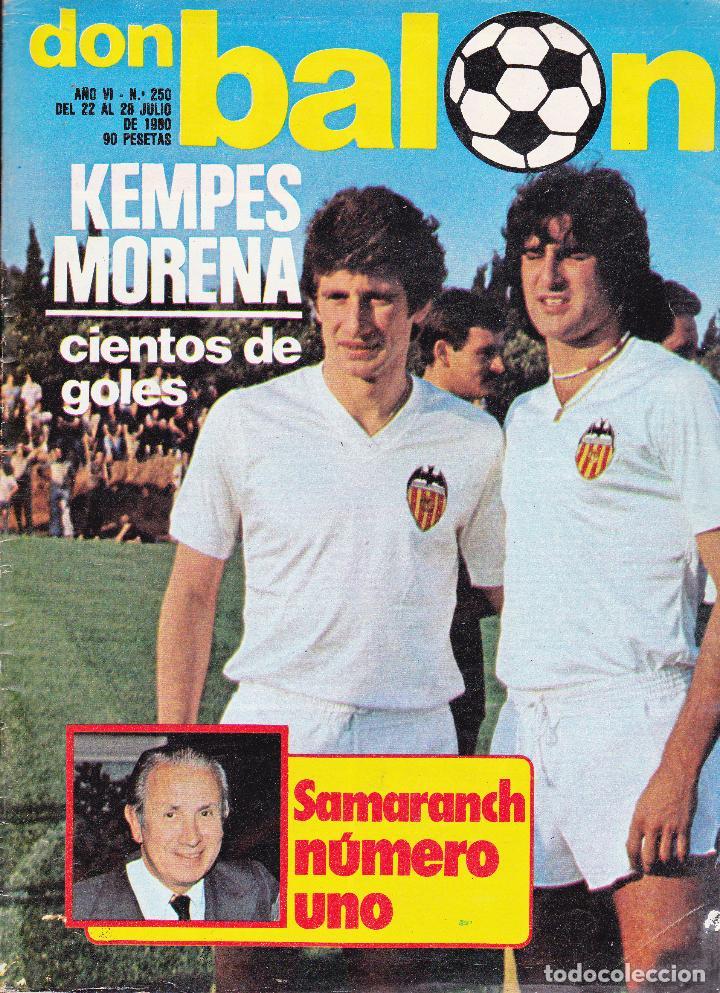 REVISTA DON BALON Nº 250 (Coleccionismo Deportivo - Revistas y Periódicos - Don Balón)