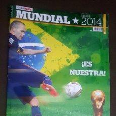 Coleccionismo deportivo: GUÍA MARCA MUNDIAL BRASIL 2014. Lote 93186515