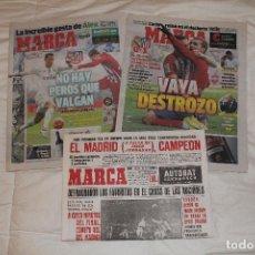 Coleccionismo deportivo: DIARIO MARCA. DERBI MADRILEÑO. 27 Y 28 FEBRERO 2016 (INCLUYE PRIMERA ENTREGA DEL COLECCIONABLE). Lote 54877986