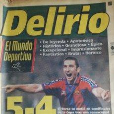 Coleccionismo deportivo: MUNDO DEPORTIVO 1992 .. Lote 93644235
