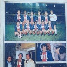 Coleccionismo deportivo: PARÍS SAINT GERMAIN CRUYFF CON EL.... Lote 93702395