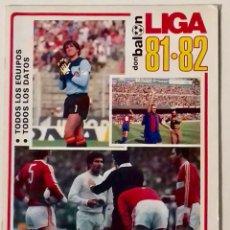 Coleccionismo deportivo: REVISTA FÚTBOL DON BALÓN EXTRA LIGA 81-82. Lote 93718032