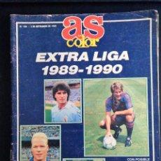 Coleccionismo deportivo: AS COLOR. Nº 186. EXTRA LIGA 1989 - 1990. Lote 93786690