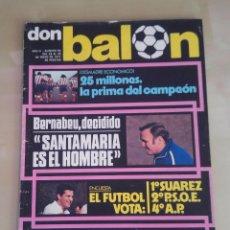 Coleccionismo deportivo: DON BALÓN Nº 85 (MAYO DE 1977) - ATLÉTICO DE MADRID, CAMPEÓN DE LIGA.. Lote 93844365