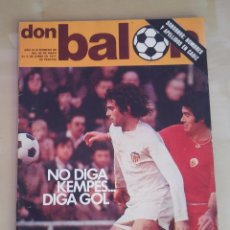 Coleccionismo deportivo: DON BALÓN Nº 86 (JUNIO DE 1977) - NO DIGA KEMPES... DIGA GOL. Lote 93844690
