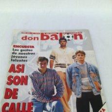 Coleccionismo deportivo: DON BALON N-1014 AÑO 1995 POSTER:ZARAGOZA 94-9. Lote 94066330