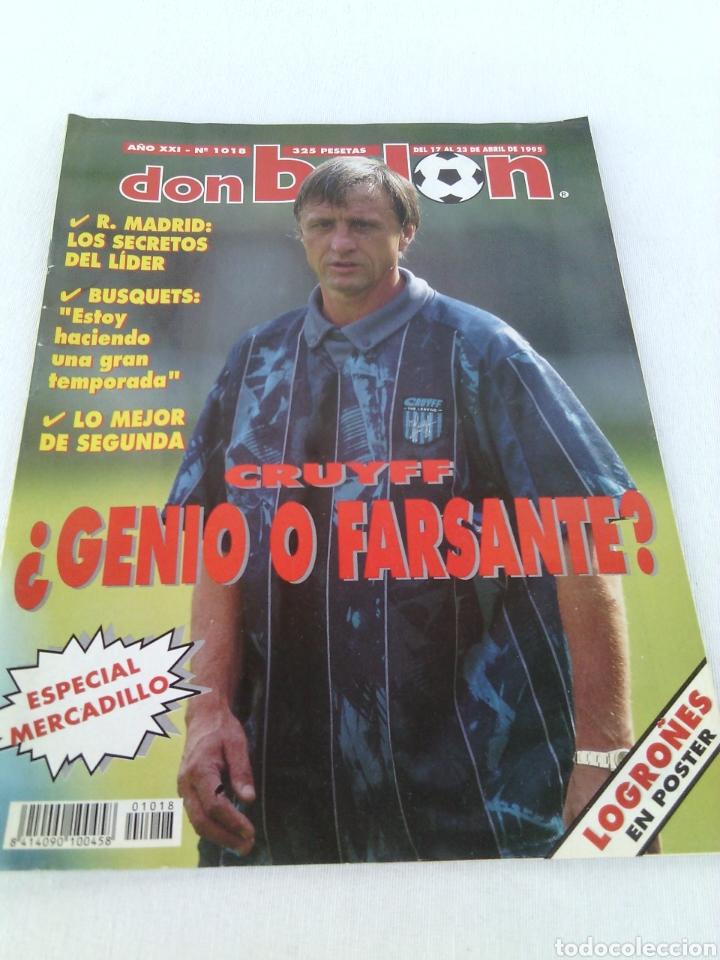 DON BALON N-1018 AÑO 1995 POSTER:LOGROÑES 94-95 (Coleccionismo Deportivo - Revistas y Periódicos - Don Balón)