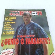 Coleccionismo deportivo: DON BALON N-1018 AÑO 1995 POSTER:LOGROÑES 94-95. Lote 94066935