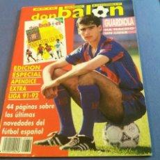 Coleccionismo deportivo: DON BALON APENDICE EXTRA LIGA 91 92. Lote 94161515