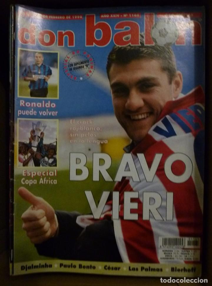 Coleccionismo deportivo: Lote de 85 revistas Don Balon nº sueltos de 1996 a 2003 La septima del Madrid Francia mundial 98 etc - Foto 4 - 94184760