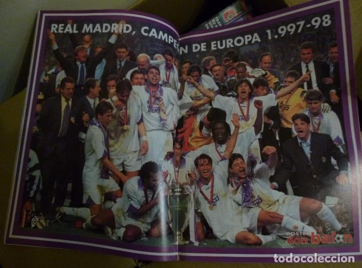 Coleccionismo deportivo: Lote de 85 revistas Don Balon nº sueltos de 1996 a 2003 La septima del Madrid Francia mundial 98 etc - Foto 5 - 94184760
