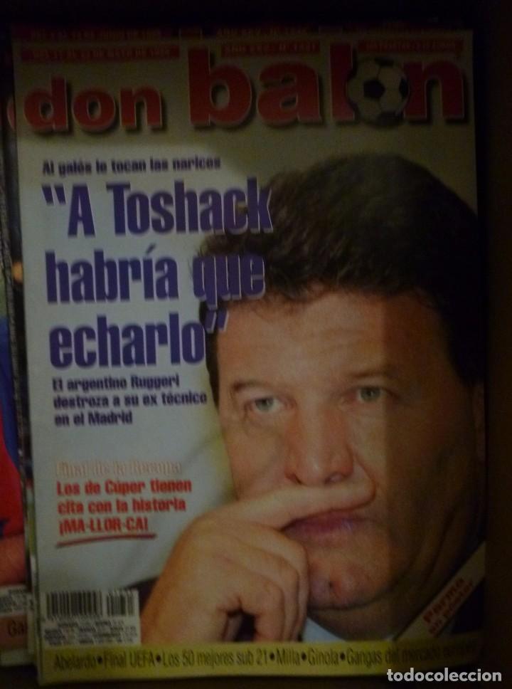Coleccionismo deportivo: Lote de 85 revistas Don Balon nº sueltos de 1996 a 2003 La septima del Madrid Francia mundial 98 etc - Foto 9 - 94184760