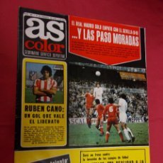 Coleccionismo deportivo: AS COLOR. Nº 300. 15 FEBRERO 1977. CON POSTER DE R.C.D. ESPAÑOL.. Lote 94303610