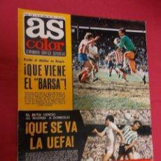 Coleccionismo deportivo: AS COLOR. Nº 310. 26 ABRIL 1977. CON POSTER DE U.D. LAS PALMAS.. Lote 94303862