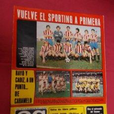 Coleccionismo deportivo: AS COLOR. Nº 310. 31 MAYO 1977. CON POSTER DE EVANGELISTA.. Lote 94304178