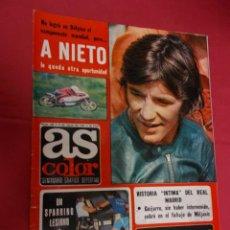 Coleccionismo deportivo: AS COLOR. Nº 320. 5 JULIO 1977. CON POSTER DE REAL BETIS BETIS CAMPEON COPA.. Lote 94306342