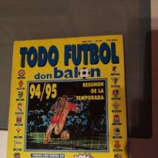 Coleccionismo deportivo: TODO FUTBOL DON BALON 94/95. Lote 94515932