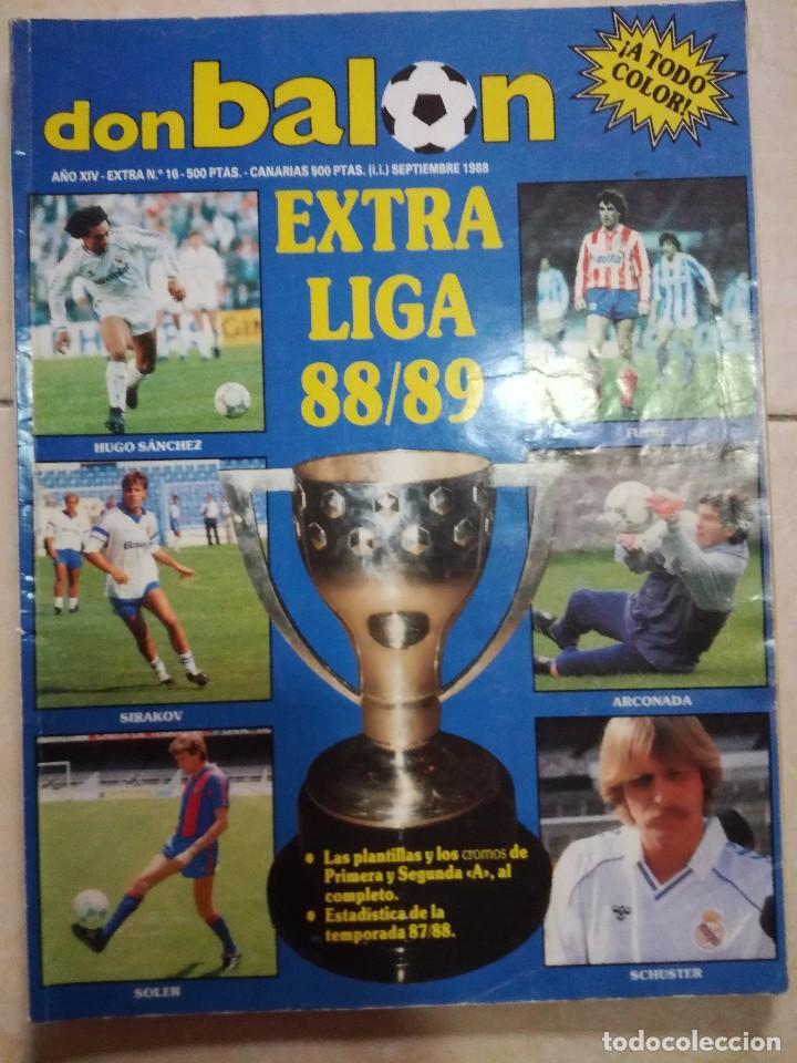 DON BALON EXTRA LIGA 88/89 (Coleccionismo Deportivo - Revistas y Periódicos - Don Balón)