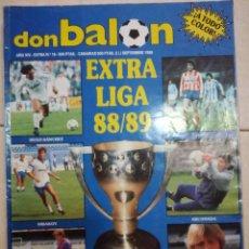 Coleccionismo deportivo: DON BALON EXTRA LIGA 88/89. Lote 94676327
