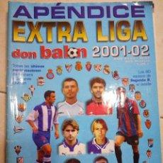 Coleccionismo deportivo: DON BALON APENDICE EXTRA LIGA 2001/2002. Lote 94676983