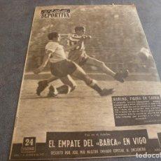 Coleccionismo deportivo: VIDA DEPORTIVA Nº:533(5-12-55)WEMBLEY INGLATERRA 3 ESPAÑA 1,CELTA 0 BARÇA 0,ESPAÑOL 3 DEPOR 2. Lote 208868335