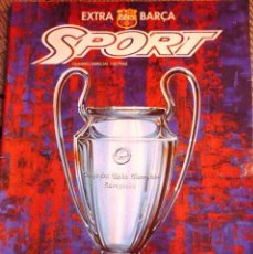 REVISTA SPORT- EXTRA BARÇA - LA COPA SOÑADA (PREVIO FINAL COPA EUROPA 1992 FC. BARCELONA/ SAMPDORIA)