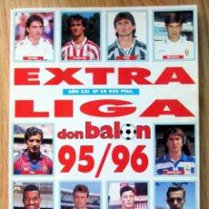 Coleccionismo deportivo: REVISTA DON BALON EXTRA LIGA 1995-96 SPANISH LEAGUE 1995 1996. Lote 95231223